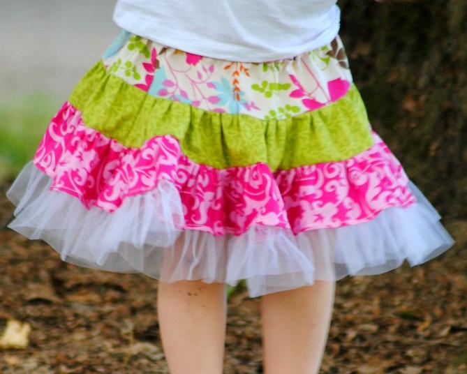 Pdf Pattern Twirly Swirly Skirt Sewing Pattern 2 To 10 Years Of