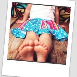 Sewing Pattern for Panelled Skirt with Headband, Pattern Pdf, For beginner