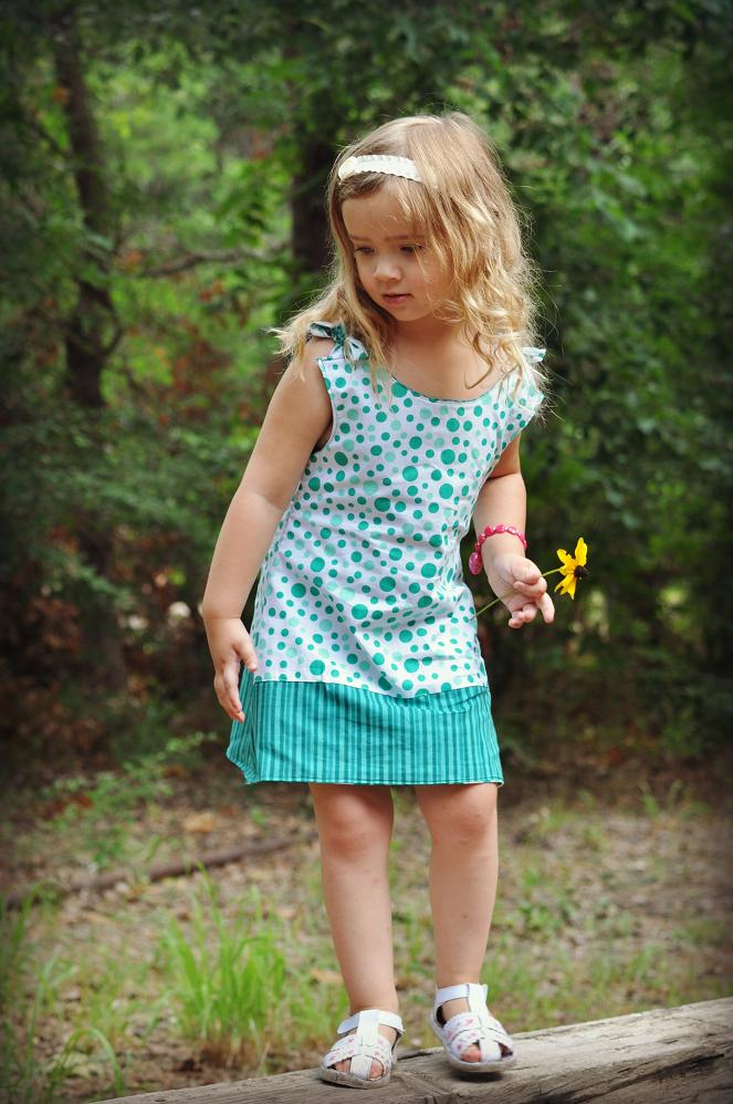 Allison Reversible Girls Dress Pdf Sewing Pattern On Luulla